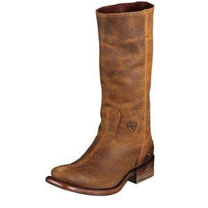 Ariat Auburn Tan Leather Cowboy Boot 6.5